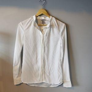 🌻3/$25🌻NWT H&M Blouse/Dress Shirt w/ Lace Trims